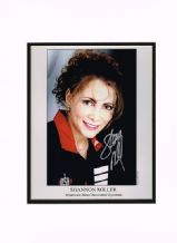 Shannon Miller Autograph Signed Photo